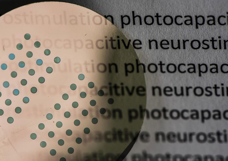 Organic Printing Inks May Restore Sight