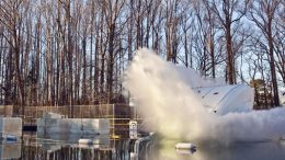 Orion Mockup Takes Final Splash Test