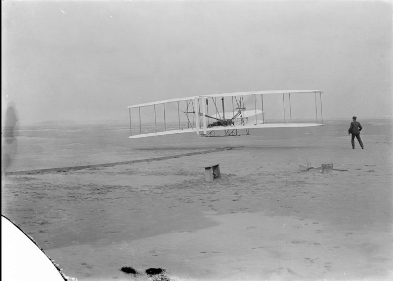 Orville Wright First Powered Controlled Flight