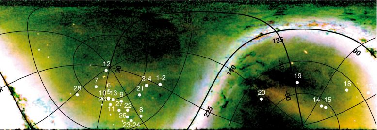 Outer Halo of the Milky Way Contains Stellar Remains of Dwarf Galaxies