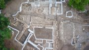 Overhead of Northern Complex and Wine Cellar