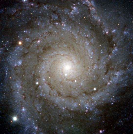 PESSTO Survey Image of Spiral Galaxy Messier 74