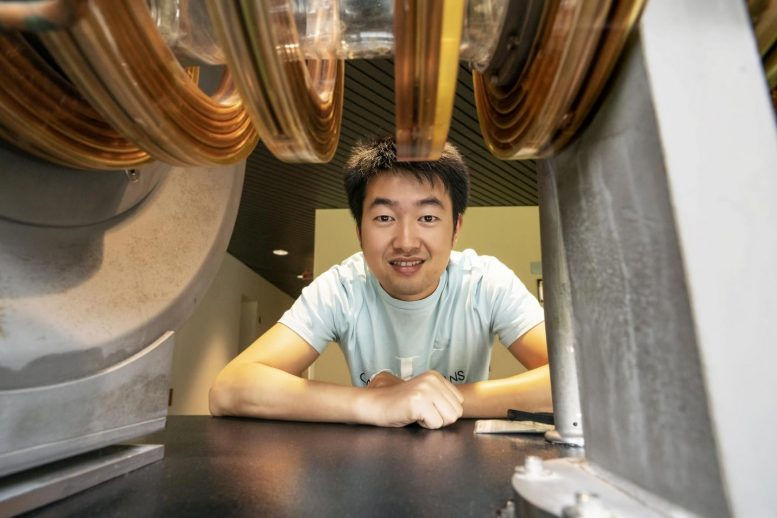 PPPL physicist Caoxiang Zhu