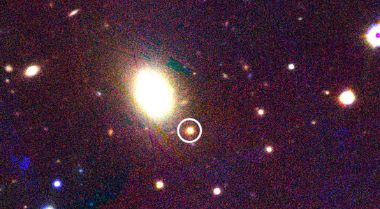 Pan STARRS Finds a Lost Supernova