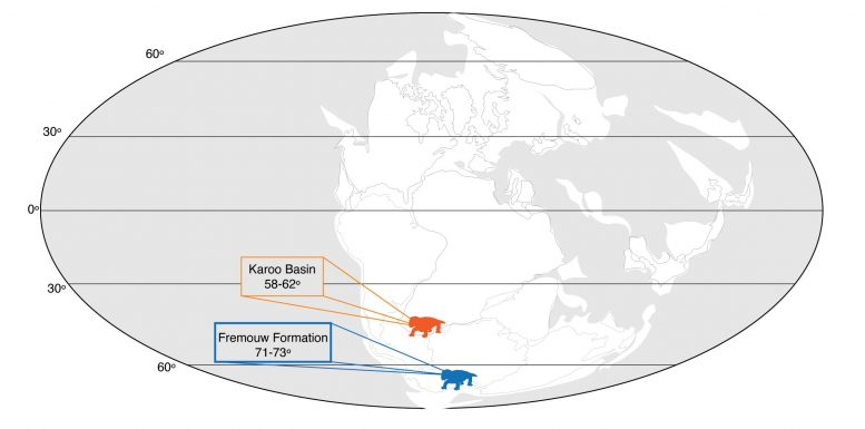 Pangea Map Early Triassic