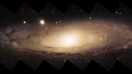 Panorama of Spiral Galaxy M31