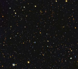 Panoramic View of the Fire and Fury of Star Birth