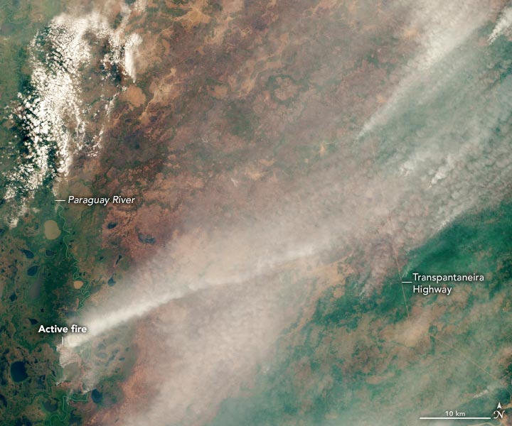Pantanal Fires 2020 Annotated