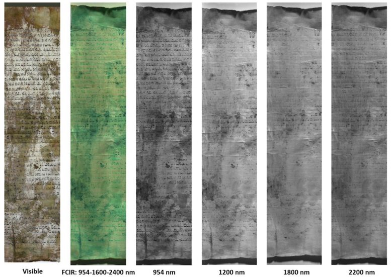 Parchment Hyperspectral Imaging
