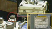Passive Smart Fabric International Space Station