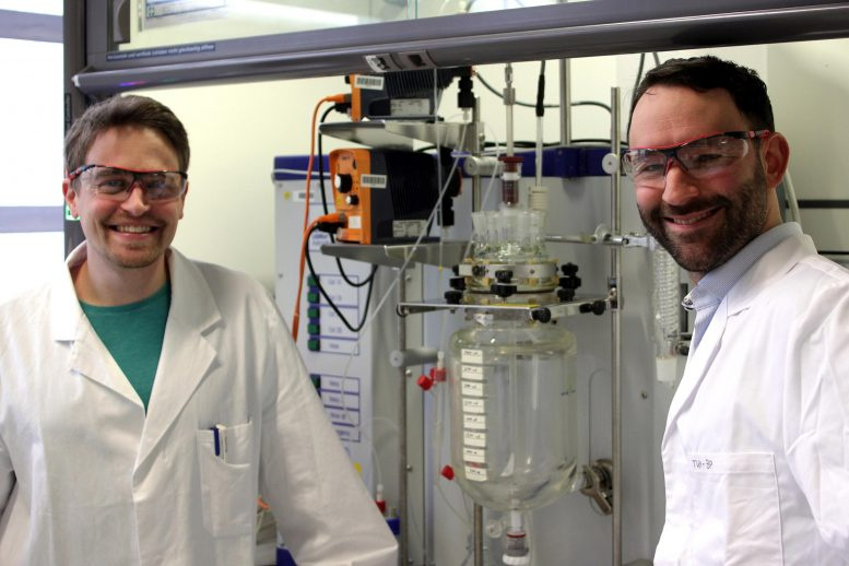 Paul Stockmann and Dr. Daniel Van Opdenbosch