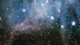 Peeks inside a Stellar Cloud