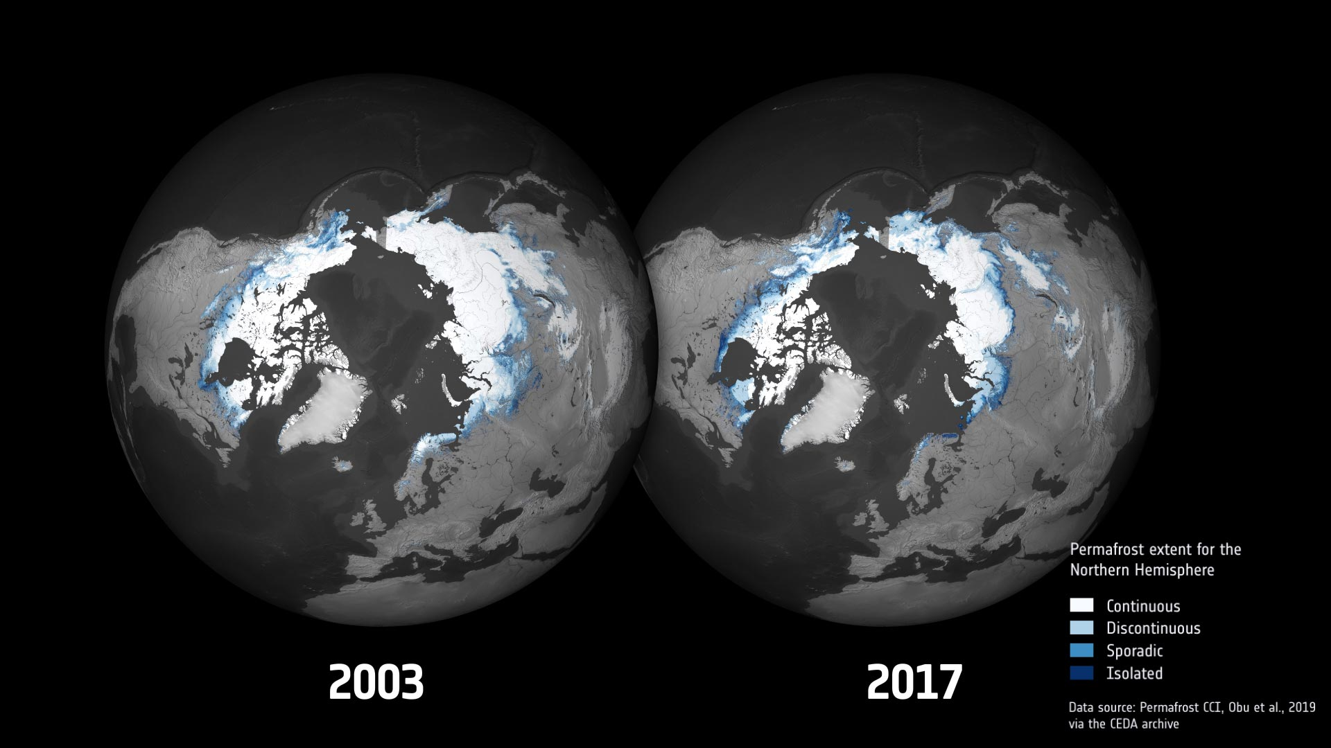 Stunning Animation Shows Permafrost Changes in the Arctic Due to Climate Change - SciTechDaily