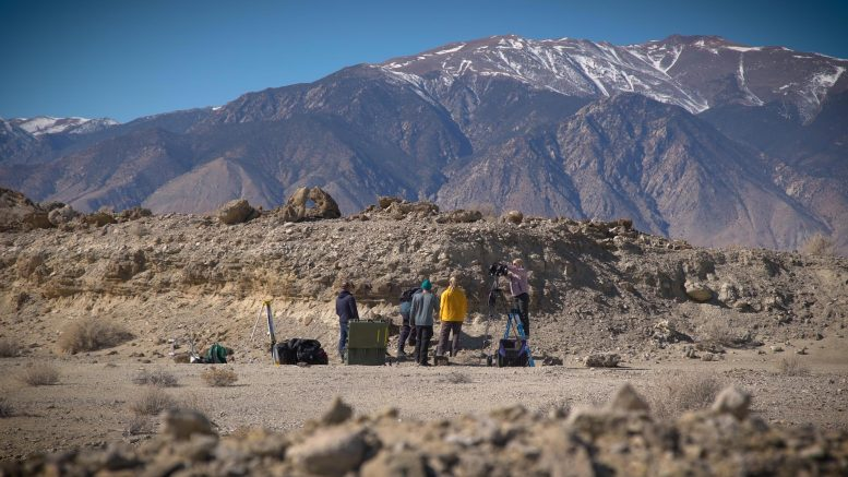 Perseverance Field Team Sets up in Nevada Desert