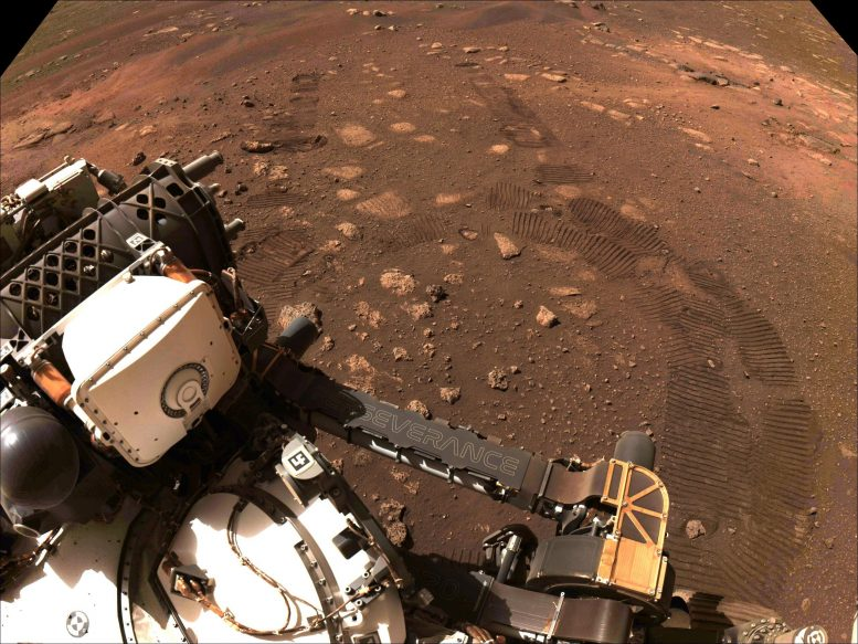 Perseverance Is Roving on Mars