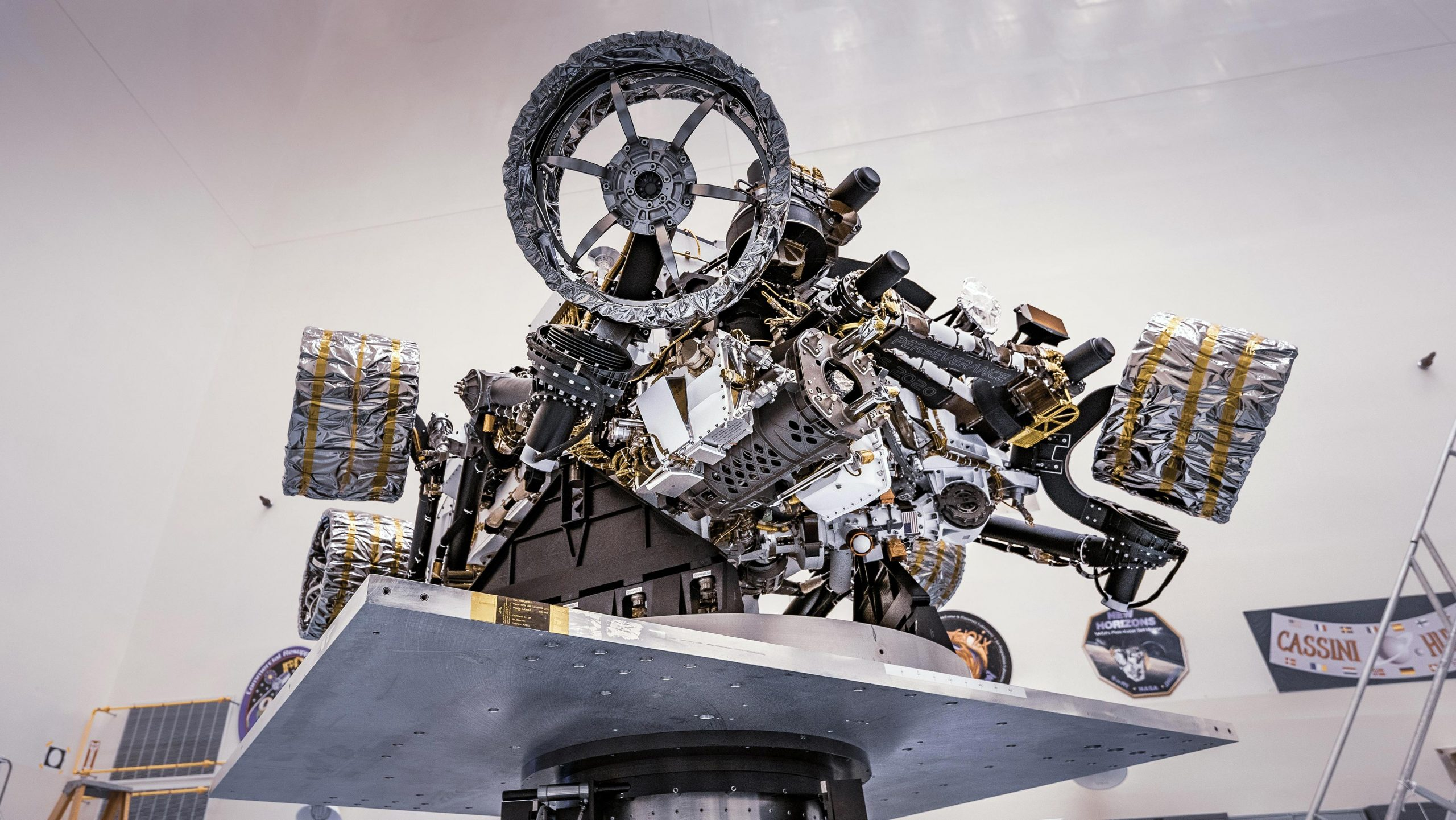 Crucial Weight-Balancing Test Performed on NASA's Mars ...