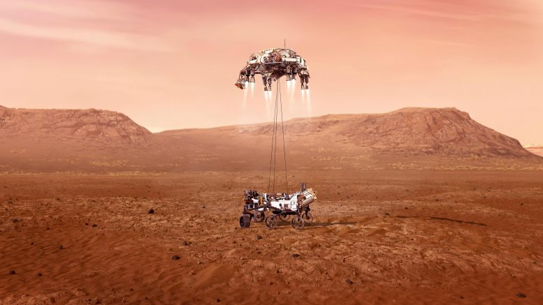 Perseverance Touches Down on Mars