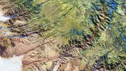 Peruvian Andes From Space