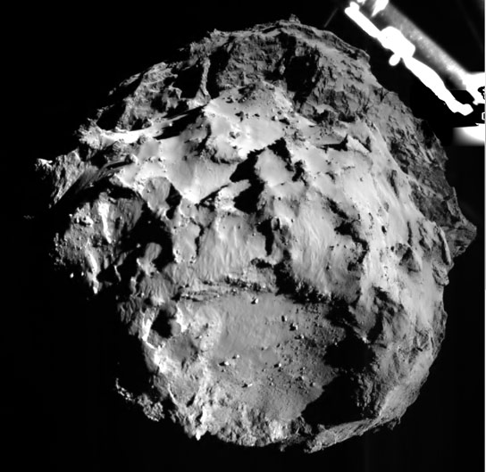 Philae Makes Historic First Landing