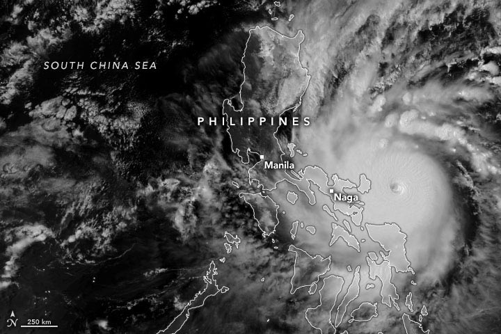 Philippines Super Typhoon Goni Annotated