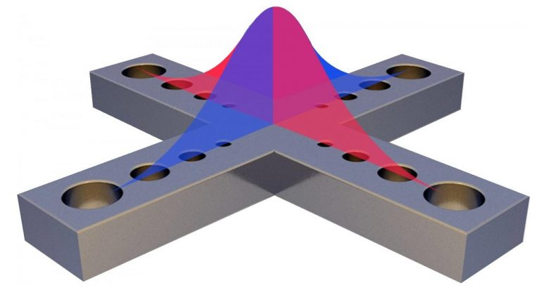 Photonic Structure That Traps Two Photons