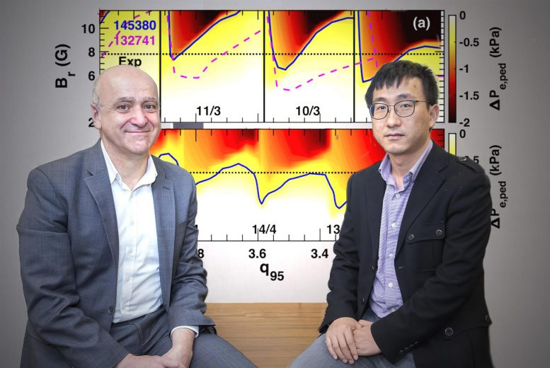 Physicists Raffi Nazikian and Qiming Hu
