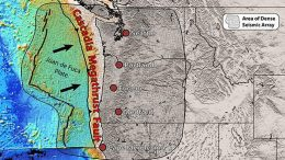 Pieces of Mantle Found Rising Under Cascadia Fault