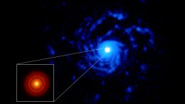 Planet-Forming Disk Around Star RU Lup