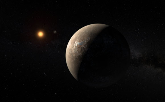 Planet Found in Habitable Zone Around Nearest Star