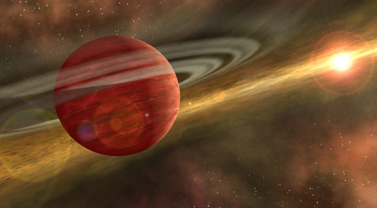 Planet HD 106906 b Unlike Anything in Our Own Solar System