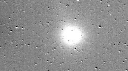 Planet Hunting TESS Catches a Comet in Motion