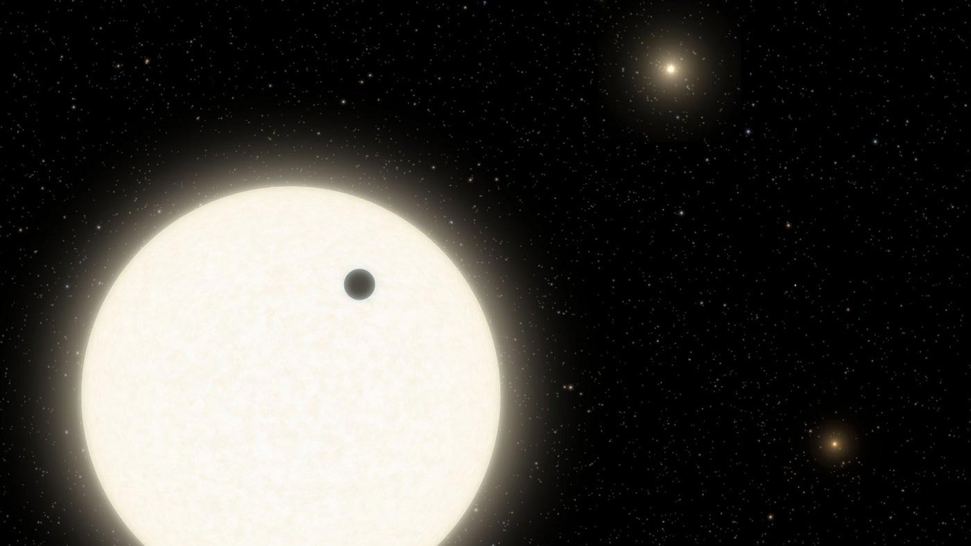 A Tale of Planetary Resurrection in a Triple-Star System With a Skewed Configuration