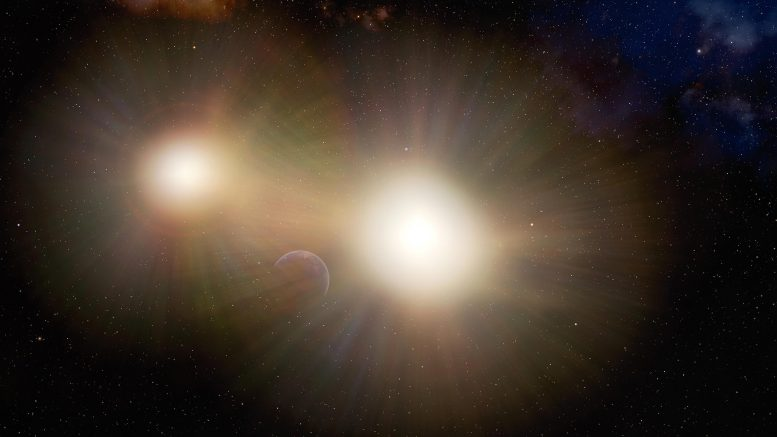 Planet Lost in the Glare of Binary Stars