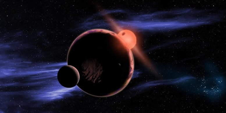 Planet Orbiting Red Dwarf Star