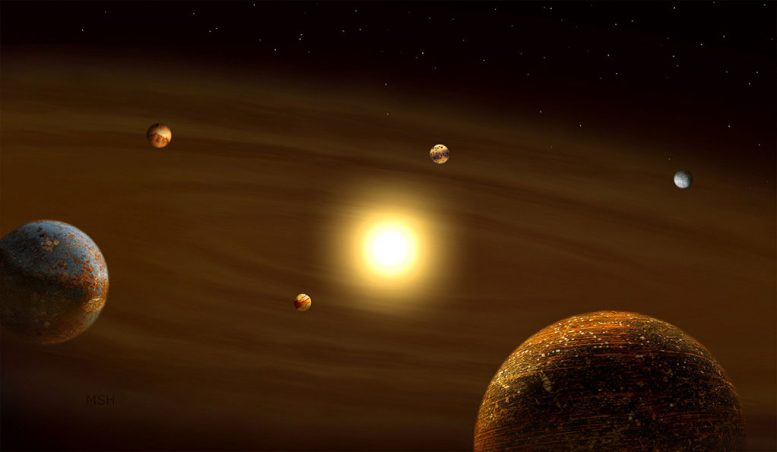 Planetary Systems Without Heavy Metals