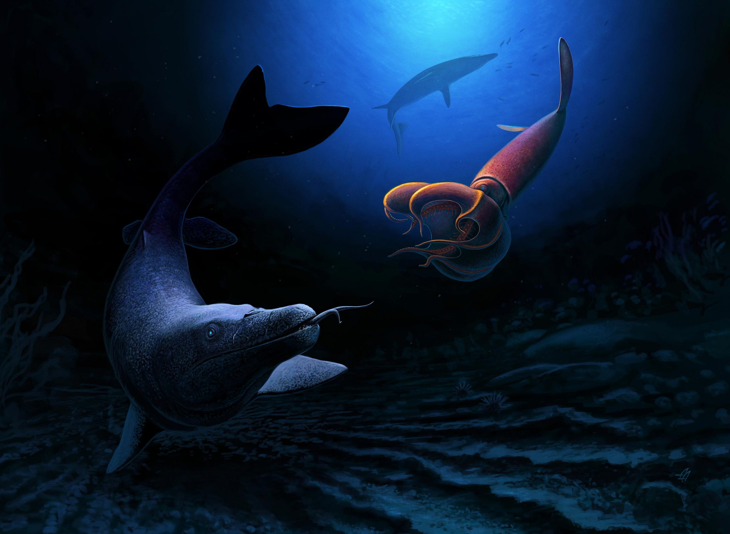 Giant Sea Lizard Grew Up to 26 Feet Long – Shows Diversity of Life Before Asteroid Hit