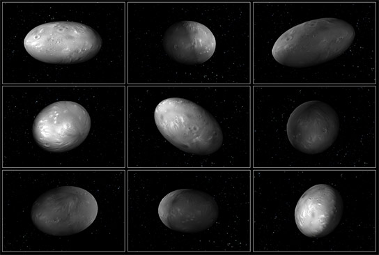 Pluto's Moons Nix and Hydra Wobble