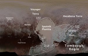 Pluto Planetary Features Officially Named