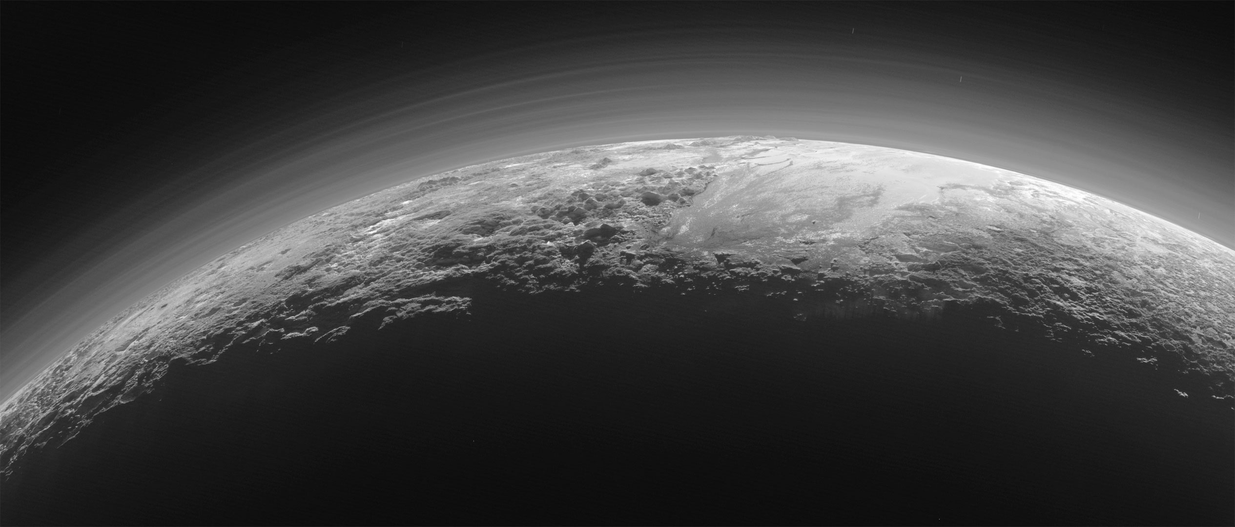 Nasa Releases New Pluto Images Taken By The New Horizons