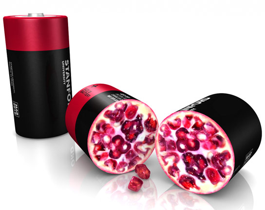 Pomegranate Design Solves Problems for Lithium Ion Batteries