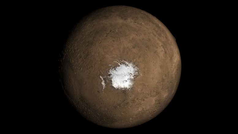 Possibility of Recent Underground Volcanism on Mars