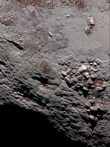 Possible Ice Volcano on Pluto