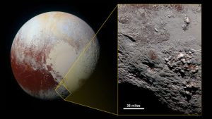Possible Ice Volcano on Pluto Discovered