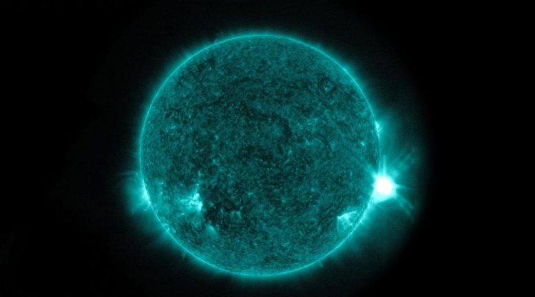 Powerful Collision of Magnetic Energy on Sun