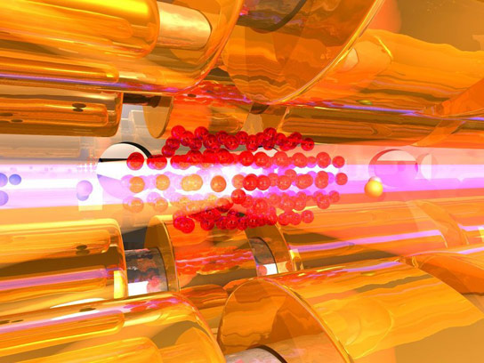 Precise Control of the Rotational Temperature of Molecular Ions