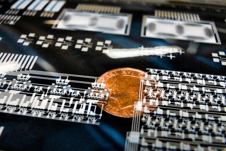 Printed Large Scale Integrated Circuits