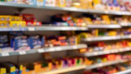Processed Packaged Food Grocery Aisle