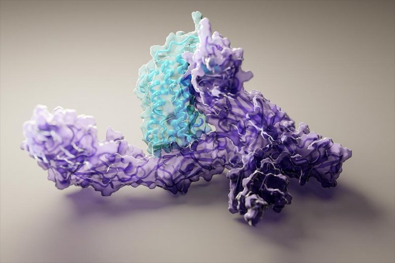 Protein Structure Generated With Artificial Intelligence