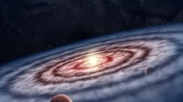 Protoplanetary Disk Surrounding Young Star