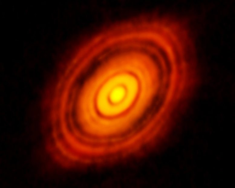 Protoplanetary Disk of HL Tauri